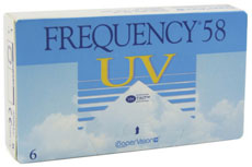 Frequency 58 UV (6 čoček)