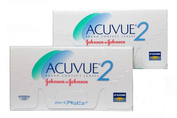 JOHNSON & JOHNSON Acuvue 2 6ks